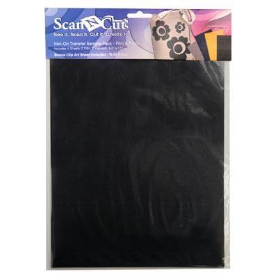 ScanNcut Iron on Sample Film