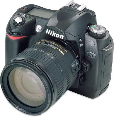 D70 Digital SLR with AF-S DX 18-70  Lens Kit - USA Warranty