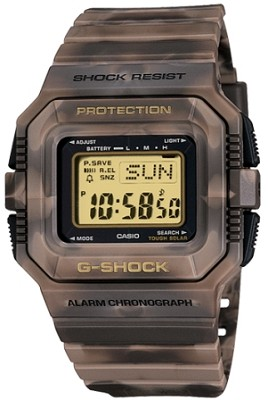 G5500MC-5 - G-Shock Ltd Edition Mudman Solar Shock Resistant Brown Camo Watch