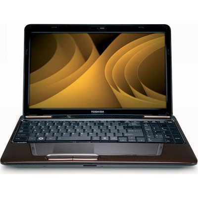 Satellite 15.6` L655-S5156BN Notebook PC - Brown Intel Pentium P6200 Processor