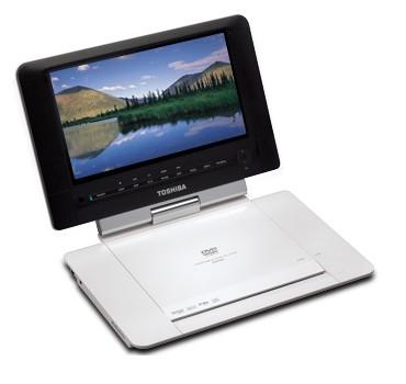 SD-P93S Portable DVD Player w/ 9` LCD Swivel Display