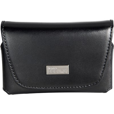 COOLPIX S Series Black Leather Case for Coolpix Digital Cameras