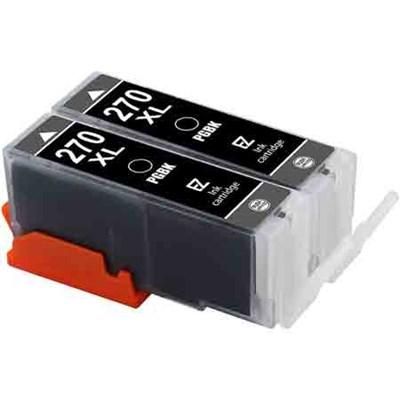2PK PGI-270 XL PGI 270 Black Ink Cartridge for Canon PIXMA Printers