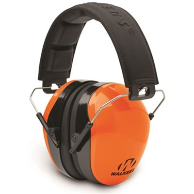 Dual Color Passive Ear Muff Hearing Protection - Blaze Orange