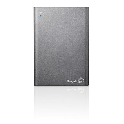 Wireless Plus 1 TB Mobile Device Storage with Built-In Wi-Fi - OPEN BOX