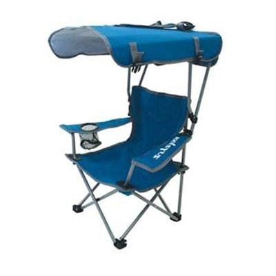 Kelsyus Kids Canopy Youth Chair in Blue and Gray - 80316