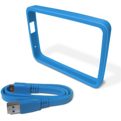 1TB Sky Hard Drive Case with Grip