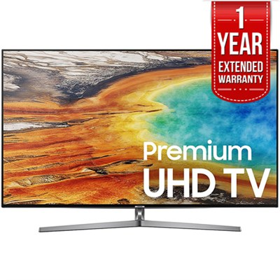 55` UHD 4K HDR LED Smart HDTV Black 2017 Model  with Extended Warranty