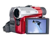 PV-GS50R Ultra-Compact Mini DV Camcorder {Red Chassis}