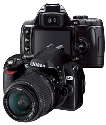 D40x Digital SLR Outfit with 18-55mm ED II Zoom Lens