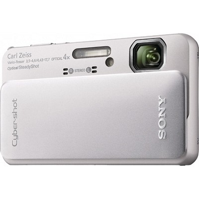 Cyber-shot DSC-TX10 Silver Digital Camera