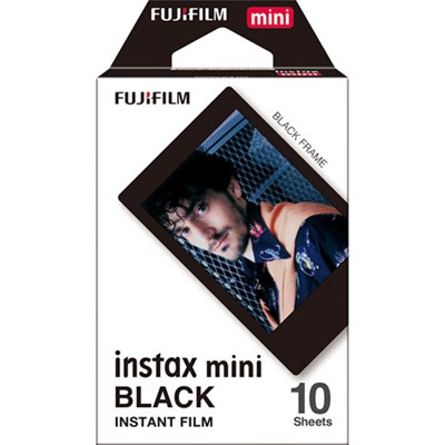 INSTAX Mini Black Frame Instant Film (10 Exposures) - 16537043