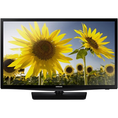 UN24H4000 - 24-inch 720p HD Slim LED TV Clear Motion Rate 120 - OPEN BOX