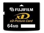 64MB xD MEMORY CARD - Fuji Brand