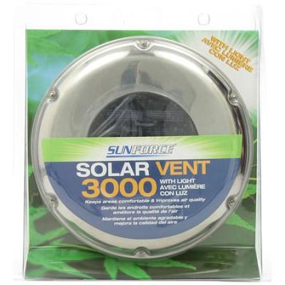 Stainless Steel Solar Vent - 81300