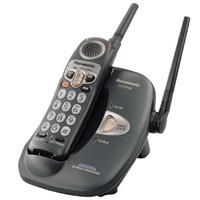 KX-TG2208B 2.4GHz Digital Cordless Phone Black