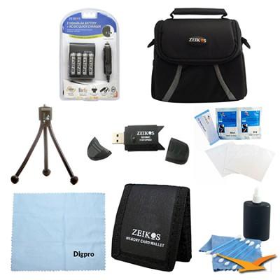 Loaded Value AA Battery Kit for Fujifilm S2950, S4200, S4500 & CANON SX160
