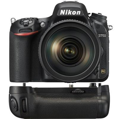 D750 DSLR Digital Camera w/ NIKKOR 24-120mm f/4G ED VR Lens Power Pack Bundle