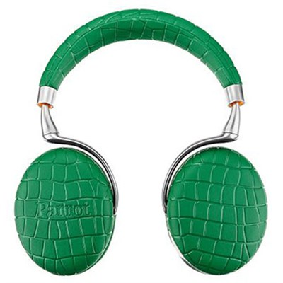 Zik 3 Wireless Bluetooth Headset w/ Wireless Char. Emerald Green Croc - OPEN BOX