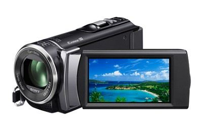 HDR-CX200 HD Camcorder 5.3 MP Stills 25x Optical Zoom (Black)