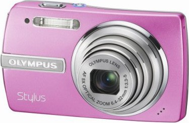 Stylus 840 8.1MP Digital Camera (Pink) - REFURBISHED/OPEN BOX