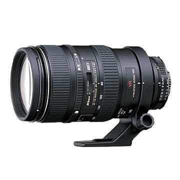 80-400mm F/4.5-5.6D ED VR AF Zoom-Nikkor Lens (Imported)