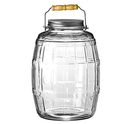 2.5 Gal Barrel Jar w/ Lid