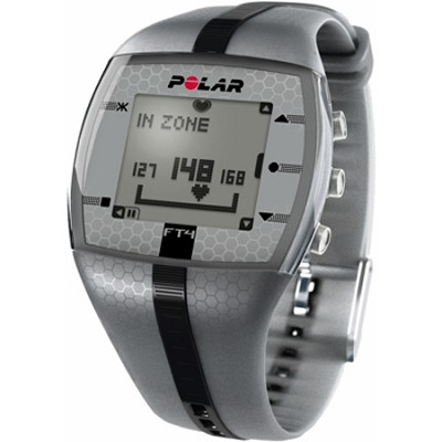 FT4 Heart Rate Monitor - Silver/Black (90039178)