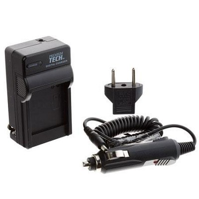 Premium Tech AC/DC  Battery Charger For the Nikon Enel14