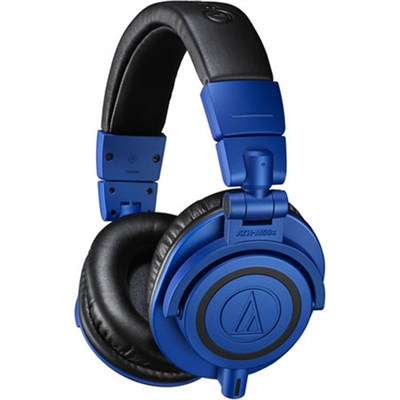 Professional Monitor Over-Ear Headphones ATH-M50xBB Blue/Black
