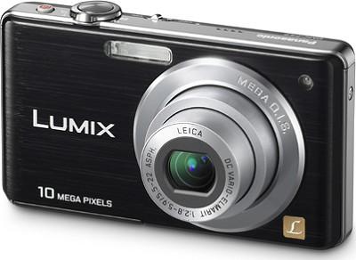 DMC-FS7K LUMIX 10.1 MP Compact Digital Camera w/ 4x Optical Zoom (Black)
