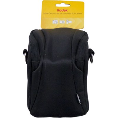 Deluxe Case for Mirrorless SLR & Other Cameras and Camcorders (Black) C2200