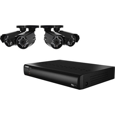 8 Channel 500GB DVR Security Camera System with 4 Indoor and Outdoor Cameras