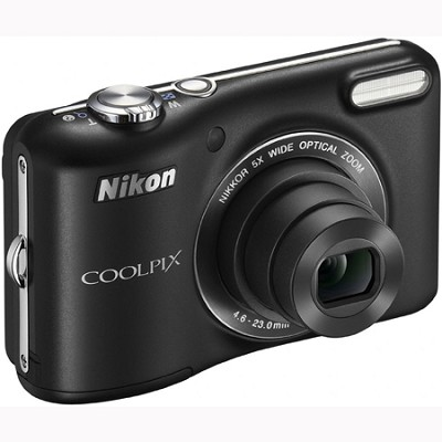 COOLPIX L28 20.1MP Digital Camera with 5x Optical Zoom (Black) Refurbished