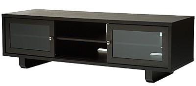 JFV60E - Dual Purpose Wide 3 Shelf A/V Cabinet, TVs up to 63` (Espresso Finish)