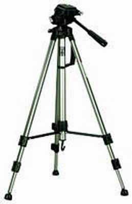 Deluxe Photo / Video Tripod with Carrying Case - OPEN BOX