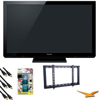 TC-P50X3 50` VIERA HD (720p) Plasma TV Value Bundle