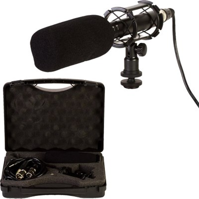 MIC-711 13 Piece Condenser Shotgun Video & Broadcast Microphone