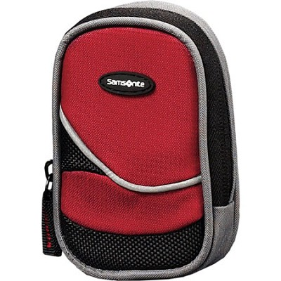 46588-1733 Small Camera Case (Black/Red)