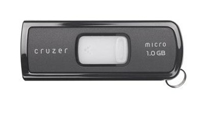 Cruzer Micro 1GB U3 USB Flash Drive {Black}