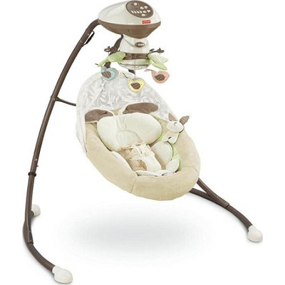 My Little Snugabunny Cradle 'n Swing