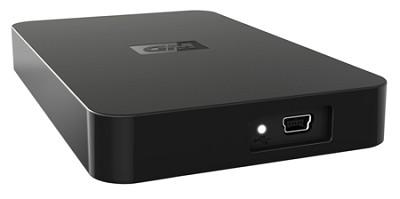 500 GB WD Elements Portable SE Hard Drive ( WDBABV5000ABK-NESN )