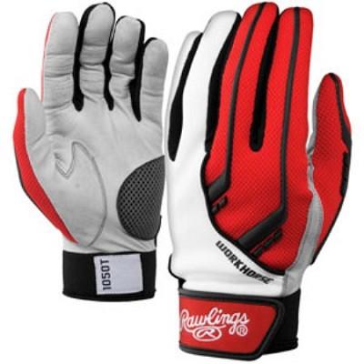 BGP1050T - 1050 Workhorse Batting Gloves, Scarlet, X-Large