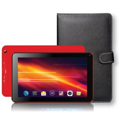 7` BT Tablet w Kybrd Cs Red
