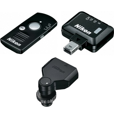 WR-10 Wireless Remote Controller Set: Transmitter, Receiver,  Adapter - OPEN BOX