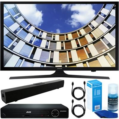Flat 43` LED HD 5 Series Smart TV + HDMI DVD Player +Bluetooth Sound Bar