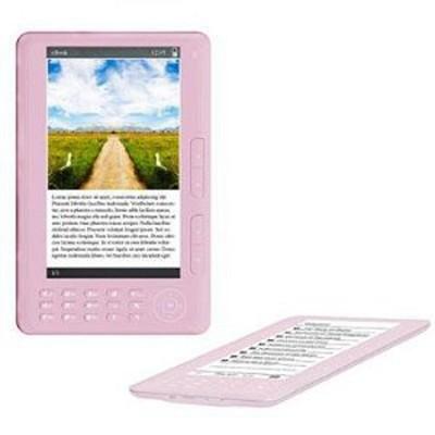 7` TFT Color eBook Reader - Pink