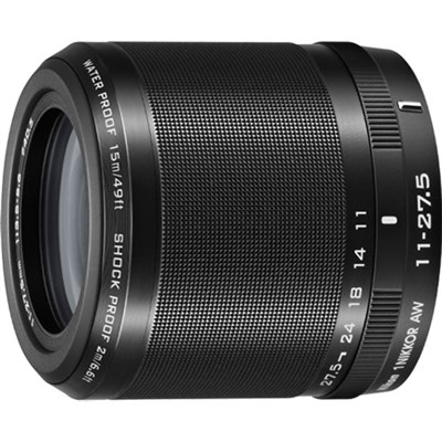 1 NIKKOR AW 11-27.5mm f/3.5 - 5.6 Lens Black