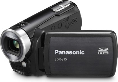 SDR-S15K Super Compact Camcorder with 10X Zoom (Black)