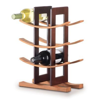 Bamboo Wine Rack - 98617